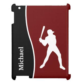 Caso del iPad del monograma del béisbol