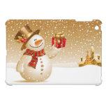 Caso del iPad del muñeco de nieve del navidad mini iPad Mini Protector