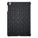 Caso del iPad del negro de la placa del diamante m