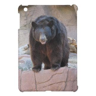 Caso del iPad del oso negro mini