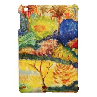 Caso del iPad del paisaje de Gauguin Tahitian mini