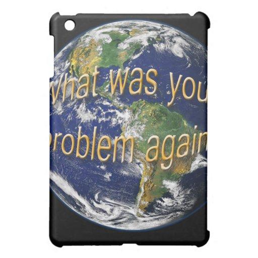 Caso del iPad del pensamiento de la tierra