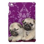 Caso del ipad del perro de perritos del barro amas iPad mini coberturas