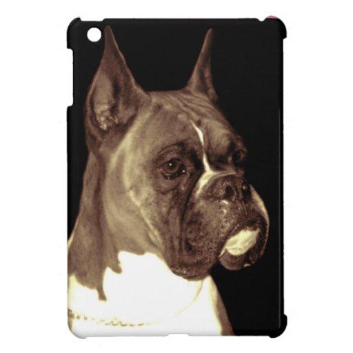 Caso del ipad del perro del boxeador mini iPad mini carcasa