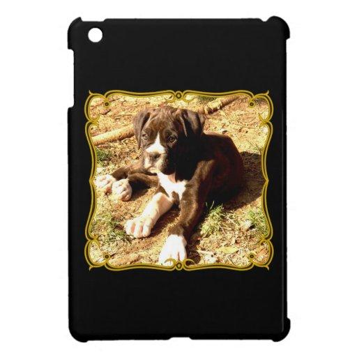 Caso del ipad del perro del boxeador mini iPad mini coberturas