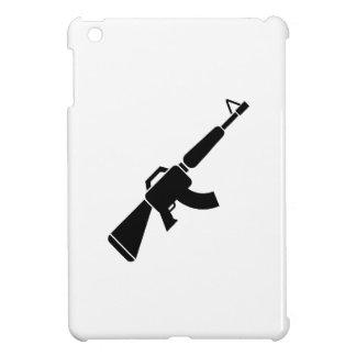 Caso del iPad del pictograma de AK-47 mini