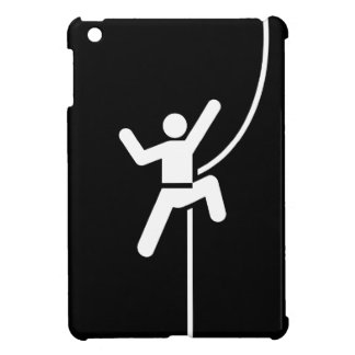 Caso del iPad del pictograma de la escalada mini