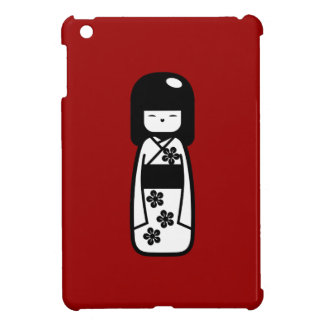 Caso del iPad del pictograma de la muñeca de Kokes iPad Mini Protector