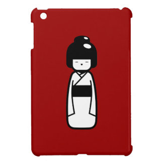 Caso del iPad del pictograma de la muñeca de Kokes iPad Mini Cárcasa