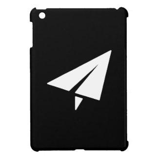 Caso del iPad del pictograma del aeroplano de pape