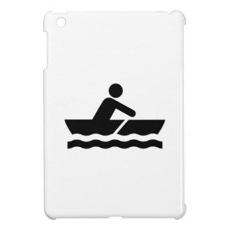 Caso del iPad del pictograma del canotaje mini