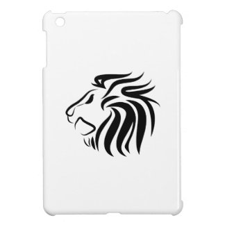 Caso del iPad del pictograma del león mini