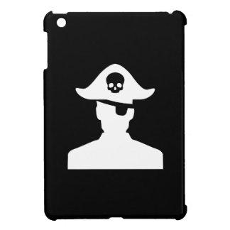 Caso del iPad del pictograma del pirata mini iPad Mini Cárcasas