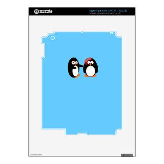 Caso del iPad del pingüino del zombi iPad 3 Skins