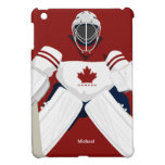 Caso del iPad del portero del hockey del equipo de iPad Mini Protector