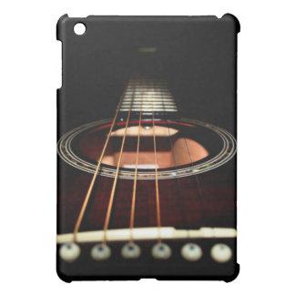 Caso del iPad del primer de la guitarra acústica