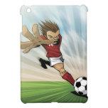 Caso del iPad del retroceso del fútbol mini iPad Mini Funda
