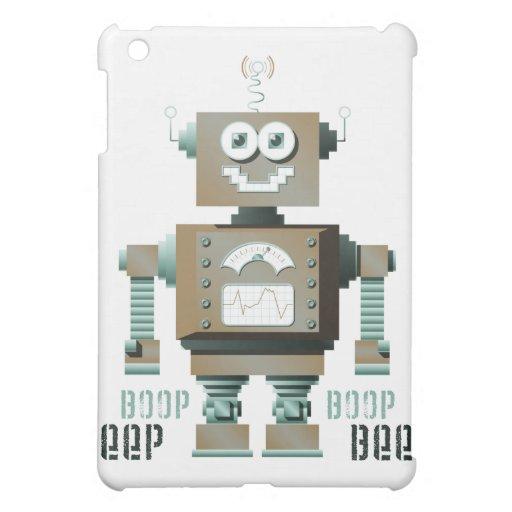 Caso del iPad del robot del juguete de la señal so