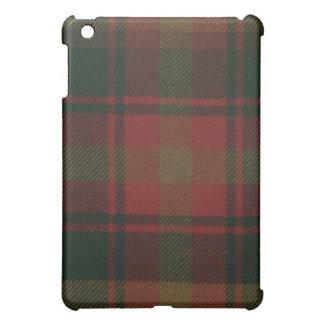 Caso del iPad del tartán de la hoja de arce