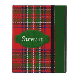 Caso del iPad del tartán de Stewart iPad Protectores