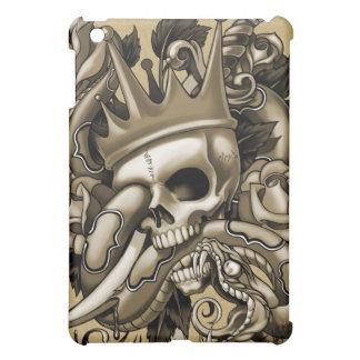 Caso del iPad del tatuaje del cráneo