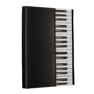 Caso del iPad del teclado de piano