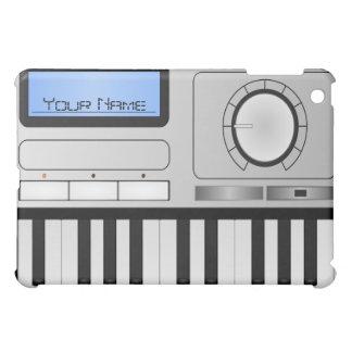 Caso del iPad del teclado del sintetizador