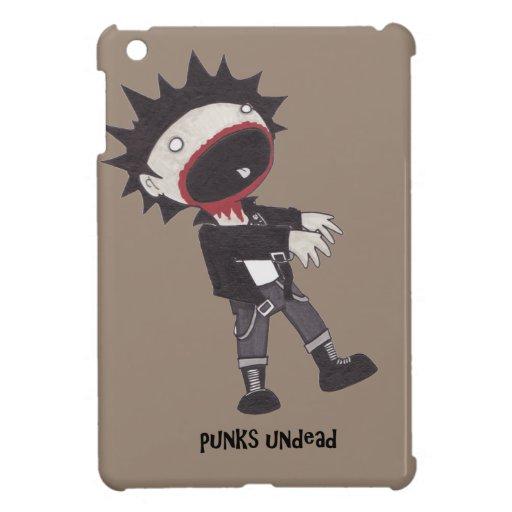 Caso del iPad del zombi de los Undead de los punks iPad Mini Protector