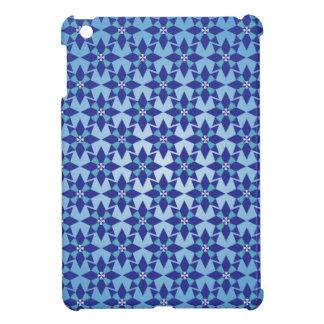 Caso del iPad duro de Shell de la estrella azul