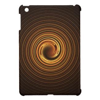 Caso del iPad espiral de oro del fractal mini