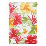 Caso del iPad floral de la fiesta del hibisco mini iPad Mini Carcasas