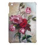 Caso del iPad floral de los rosas rosados y rojos  iPad Mini Carcasas