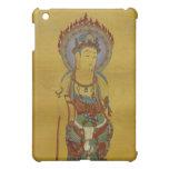 caso del iPad - fondo del bambú de Buda de la mand