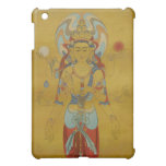 caso del iPad - fondo del bambú de Guan Yin de 8 b