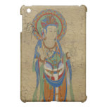 caso del iPad - fondo del crujido de Guan Yin Buda