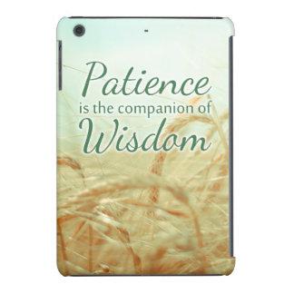 Caso del iPad inspirado de la cita de la sabiduría Funda De iPad Mini
