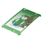 Caso del iPad listo del muñeco de nieve del navida iPad Mini Coberturas