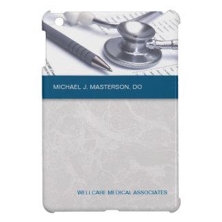 Caso del iPad médico gris de mármol de las azules  iPad Mini Carcasas