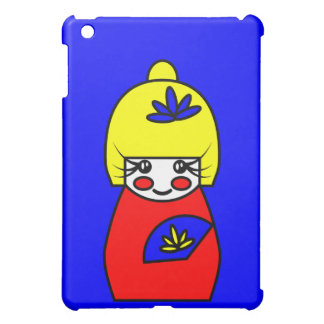 (Caso del iPad Mimi de la muñeca de Kokeshi)