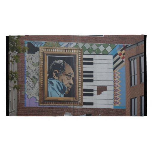 caso del iPad, mural de Duke Ellington, Washington
