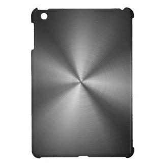 Caso del iPad oscuro del metal del acero inoxidabl