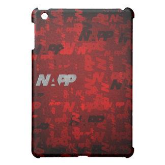 """caso del iPad para NAPP - """"NAPP artsy rojos """""""