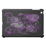 Caso del iPad púrpura del chica de la caja del gol iPad Mini Protectores