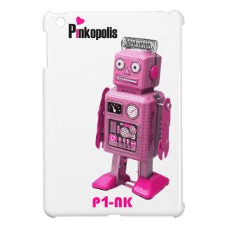 Caso del iPad retro del robot de P1-nK mini iPad Mini Funda
