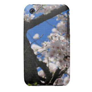 Caso del iPhone 3/3g de los flores de cereza iPhone 3 Case-Mate Coberturas