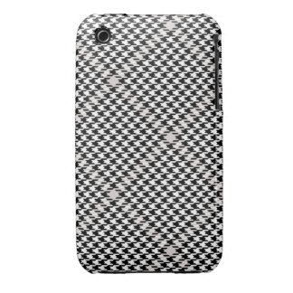 Caso del iPhone 3/3GS de Houndstooth iPhone 3 Cárcasa
