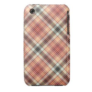 Caso del iPhone 3/3GS de la tela escocesa iPhone 3 Case-Mate Cárcasa