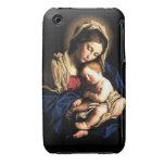 Caso del iPhone 3/3GS de Madonna y del niño iPhone 3 Case-Mate Carcasa