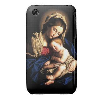 Caso del iPhone 3/3GS de Madonna y del niño Funda Para iPhone 3 De Case-Mate