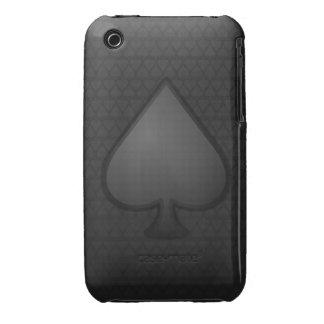 Caso del iPhone 3/3gs del símbolo de las espadas iPhone 3 Case-Mate Cárcasa